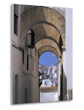 Arch of the Monjas, Vejer De La Frontera, Andalucia, Spain-Jean Brooks-Metal Print