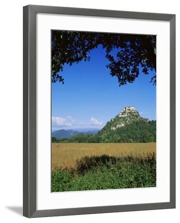 Hochosterwitz Castle, Carinthia, Austria-Jean Brooks-Framed Photographic Print