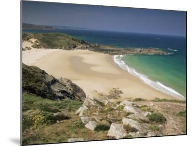 Beach Near Cap Frehel, Emerald Coast, Brittany, France-Michael Busselle-Mounted Photographic Print