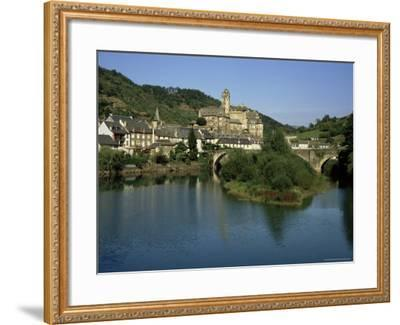 Village of Estaing, Aveyron, Midi Pyrenees, France-Michael Busselle-Framed Photographic Print
