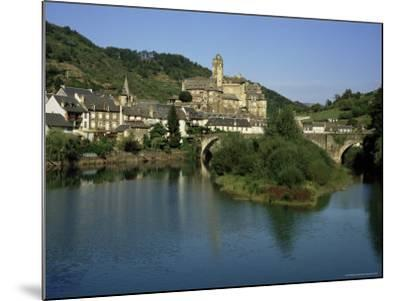Village of Estaing, Aveyron, Midi Pyrenees, France-Michael Busselle-Mounted Photographic Print