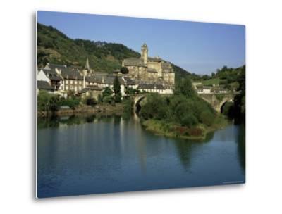 Village of Estaing, Aveyron, Midi Pyrenees, France-Michael Busselle-Metal Print