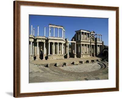 Roman Arena, Merida, Badajoz, Extramadura, Spain-Michael Busselle-Framed Photographic Print