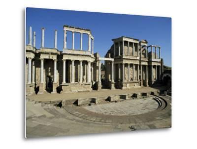 Roman Arena, Merida, Badajoz, Extramadura, Spain-Michael Busselle-Metal Print