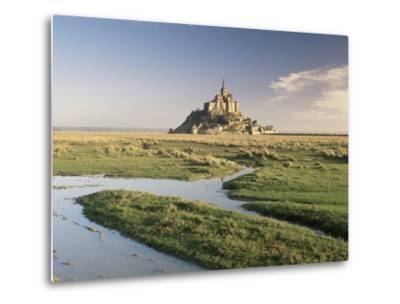 Mont St. Michel, Unesco World Heritage Site, Basse Normandie, France-Michael Busselle-Metal Print