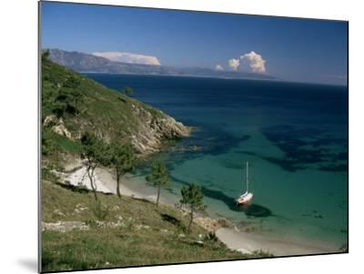 Cape Finisterre, Galicia, Spain-Michael Busselle-Mounted Photographic Print