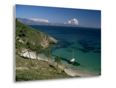 Cape Finisterre, Galicia, Spain-Michael Busselle-Metal Print