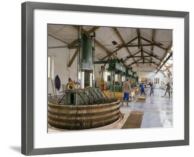 Champagne Wine Presses, Verzy, Champagne Ardennes, France-Michael Busselle-Framed Photographic Print