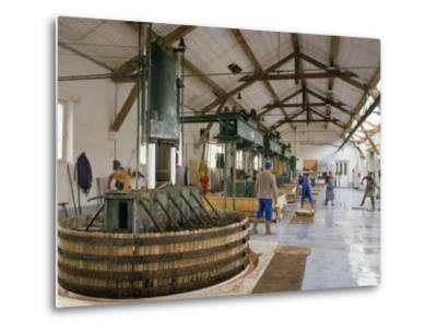 Champagne Wine Presses, Verzy, Champagne Ardennes, France-Michael Busselle-Metal Print