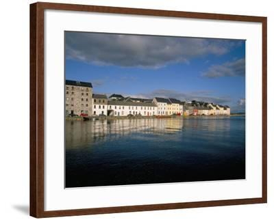Long Walk View from Claddagh Quay, Galway Town, County Galway, Connacht, Eire (Ireland)-Bruno Barbier-Framed Photographic Print