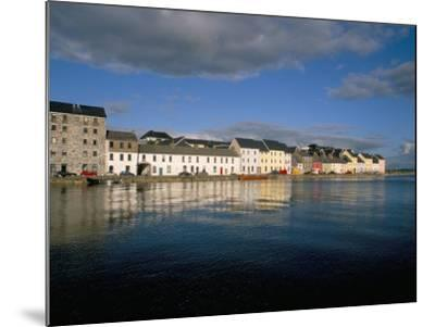 Long Walk View from Claddagh Quay, Galway Town, County Galway, Connacht, Eire (Ireland)-Bruno Barbier-Mounted Photographic Print