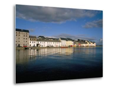 Long Walk View from Claddagh Quay, Galway Town, County Galway, Connacht, Eire (Ireland)-Bruno Barbier-Metal Print