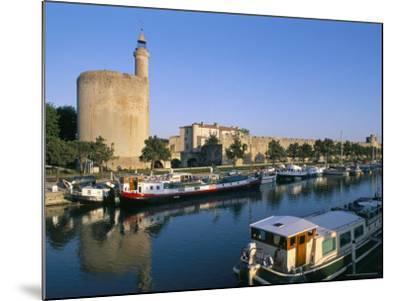 Quai Des Croisades, Aigues-Mortes, Languedoc-Roussillon, France-Bruno Barbier-Mounted Premium Photographic Print