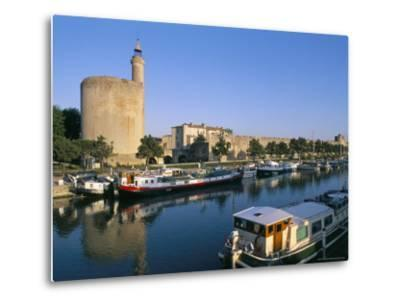 Quai Des Croisades, Aigues-Mortes, Languedoc-Roussillon, France-Bruno Barbier-Metal Print