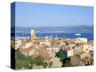 St. Tropez, Var, Cote d'Azur, Provence, French Riviera, France, Mediterranean-Bruno Barbier-Stretched Canvas Print