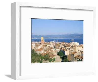 St. Tropez, Var, Cote d'Azur, Provence, French Riviera, France, Mediterranean-Bruno Barbier-Framed Photographic Print