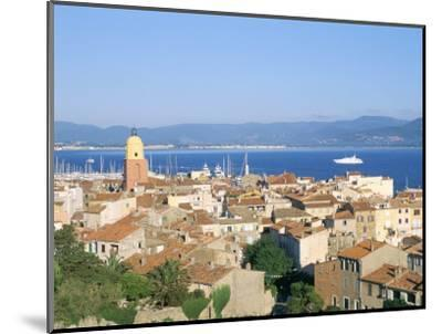 St. Tropez, Var, Cote d'Azur, Provence, French Riviera, France, Mediterranean-Bruno Barbier-Mounted Photographic Print