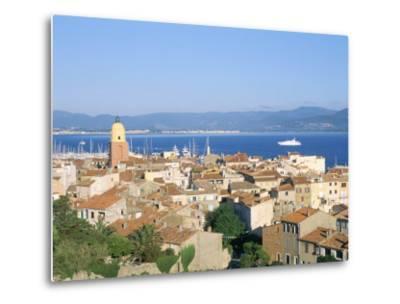 St. Tropez, Var, Cote d'Azur, Provence, French Riviera, France, Mediterranean-Bruno Barbier-Metal Print