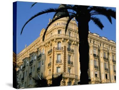 Carlton Hotel, Boulevard De La Croisette, Cannes, Alpes-Maritimes, French Riviera, Provence, France-Bruno Barbier-Stretched Canvas Print