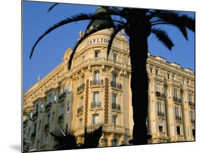 Carlton Hotel, Boulevard De La Croisette, Cannes, Alpes-Maritimes, French Riviera, Provence, France-Bruno Barbier-Mounted Photographic Print