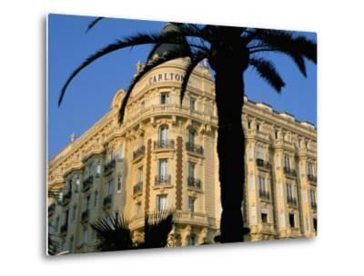 Carlton Hotel, Boulevard De La Croisette, Cannes, Alpes-Maritimes, French Riviera, Provence, France-Bruno Barbier-Metal Print