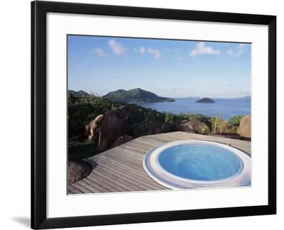 Chateau De Feuilles, Anse De Marie Louise, South Coast, Island of Praslin, Seychelles-Bruno Barbier-Framed Photographic Print