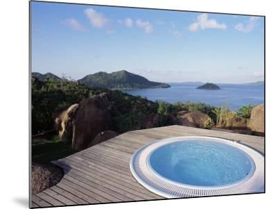 Chateau De Feuilles, Anse De Marie Louise, South Coast, Island of Praslin, Seychelles-Bruno Barbier-Mounted Photographic Print