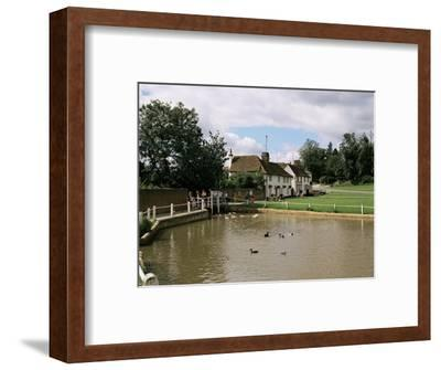 Finchingfield, Essex, England, United Kingdom-Philip Craven-Framed Photographic Print