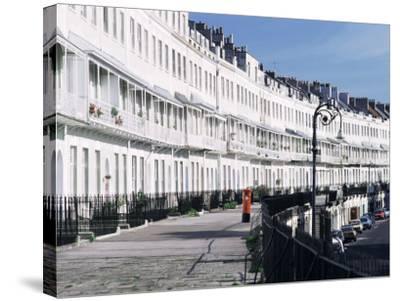 Royal York Crescent, Bristol, England, United Kingdom-Rob Cousins-Stretched Canvas Print