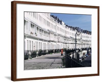 Royal York Crescent, Bristol, England, United Kingdom-Rob Cousins-Framed Photographic Print