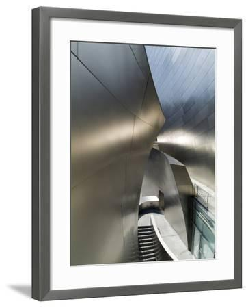 Walt Disney Concert Hall, Part of Los Angeles Music Center, Frank Gehry Architect, Los Angeles-Ethel Davies-Framed Photographic Print