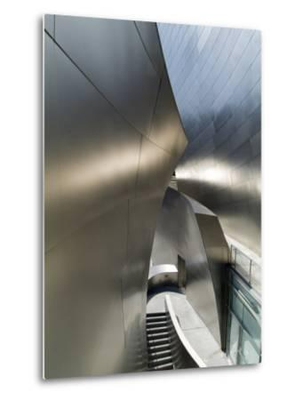 Walt Disney Concert Hall, Part of Los Angeles Music Center, Frank Gehry Architect, Los Angeles-Ethel Davies-Metal Print
