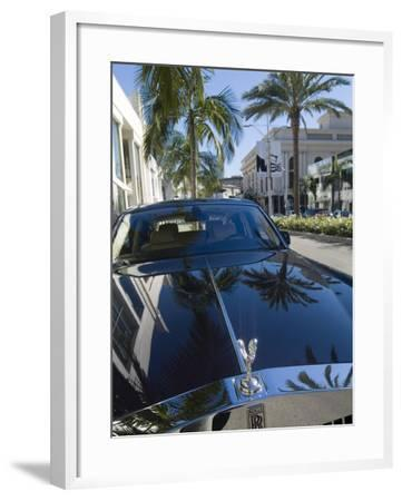 Rodeo Drive, Beverly Hills, California, USA-Ethel Davies-Framed Photographic Print
