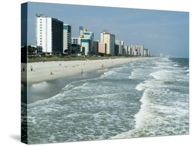 Seashore, Myrtle Beach, South Carolina, USA-Ethel Davies-Stretched Canvas Print