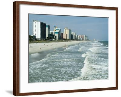 Seashore, Myrtle Beach, South Carolina, USA-Ethel Davies-Framed Photographic Print