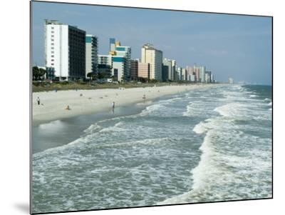 Seashore, Myrtle Beach, South Carolina, USA-Ethel Davies-Mounted Photographic Print