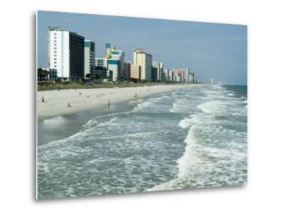 Seashore, Myrtle Beach, South Carolina, USA-Ethel Davies-Metal Print