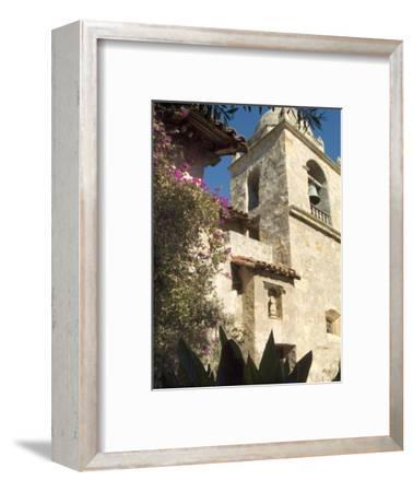 Carmel Mission, Carmel, California, USA-Ethel Davies-Framed Photographic Print