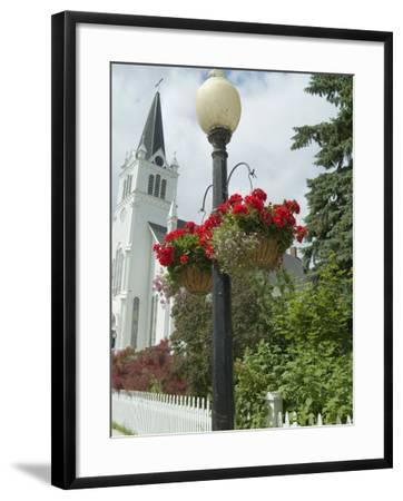Historic District, Mackinac Island, Michigan, USA-Ethel Davies-Framed Photographic Print