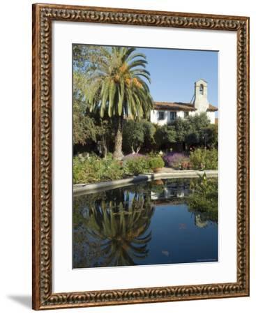 Mission San Jaun Capistrano, California, USA-Ethel Davies-Framed Photographic Print