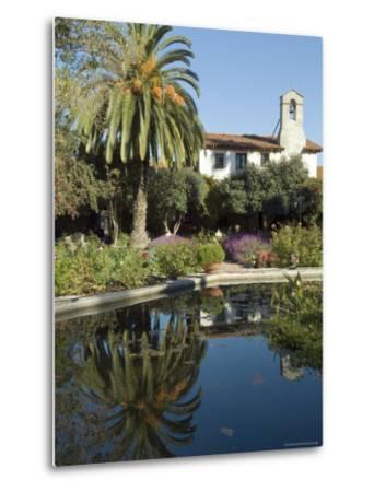Mission San Jaun Capistrano, California, USA-Ethel Davies-Metal Print