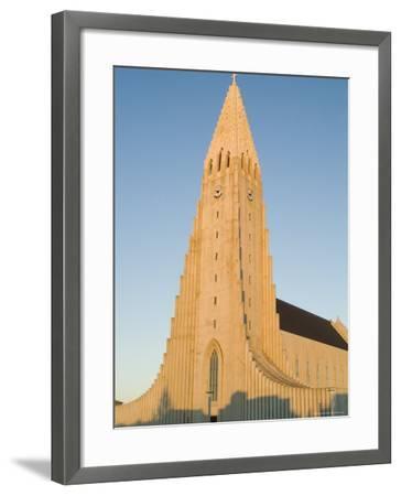 Hallgrimskirka, Reykjavik, Iceland, Polar Regions-Ethel Davies-Framed Photographic Print