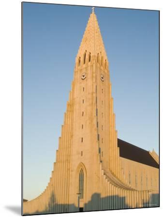 Hallgrimskirka, Reykjavik, Iceland, Polar Regions-Ethel Davies-Mounted Photographic Print