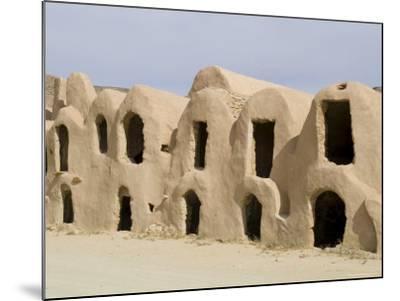 Berber Grain Storage Units, Now a Hotel, Ksar Halouf, Tunisia, North Africa, Africa-Ethel Davies-Mounted Photographic Print
