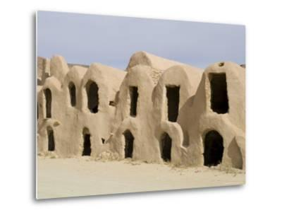 Berber Grain Storage Units, Now a Hotel, Ksar Halouf, Tunisia, North Africa, Africa-Ethel Davies-Metal Print