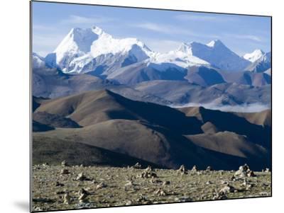 Himalaya Range, Tibet, China-Ethel Davies-Mounted Photographic Print