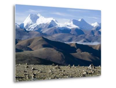 Himalaya Range, Tibet, China-Ethel Davies-Metal Print