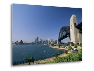 Sydney Harbour Bridge and Skyline, Sydney, New South Wales, Australia-Neale Clarke-Metal Print
