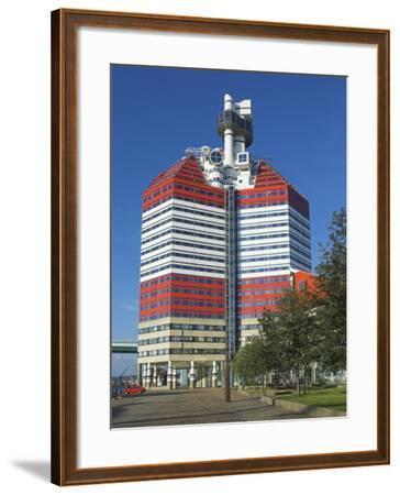 Uitken Lookout in Gothenburg, Goteborg Harbour, Sweden, Scandinavia-Neale Clarke-Framed Photographic Print