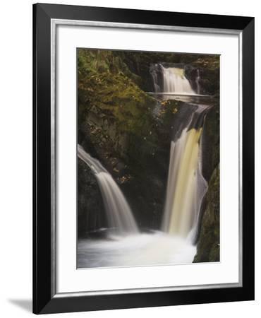Pecca Falls, Ingleton Waterfalls Walk, Yorkshire Dales National Park, Yorkshire-Neale Clarke-Framed Photographic Print